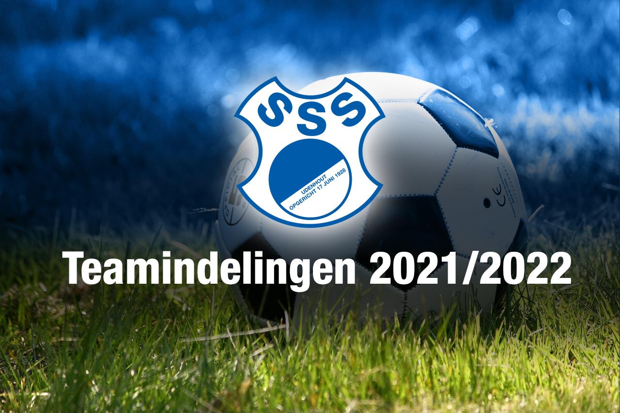 Teamindeling SvSSS 2021-2022
